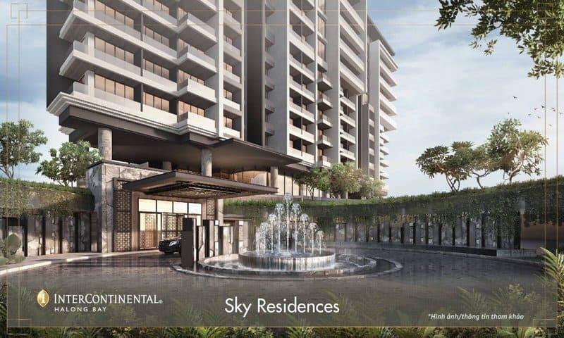 khu sky residences dự án intercontinental hạ long