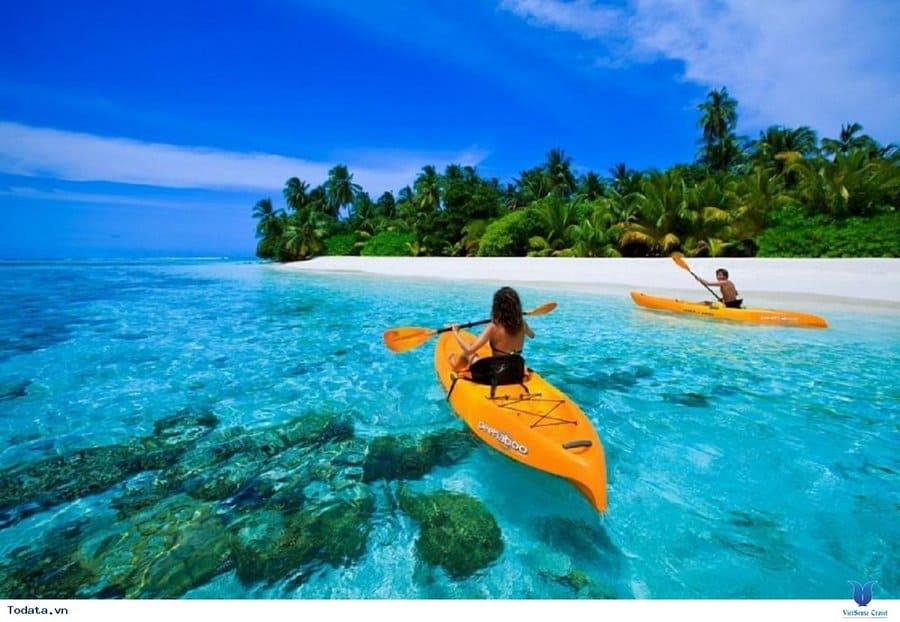 chèo thuyền kayak bãi biern phú quốc