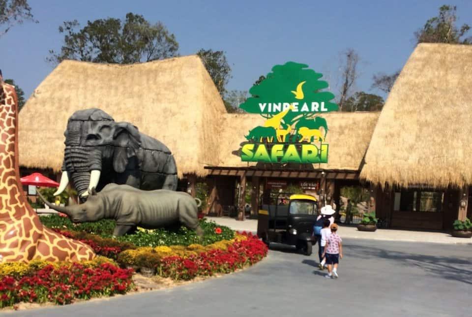 Vườn thú bán hoang dã Safari Phú Quốc