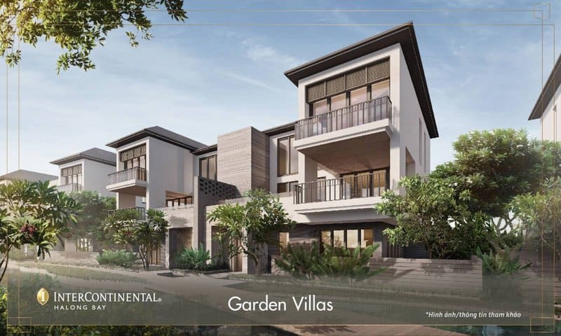 khu garden villa dự án intercontinental hạ long