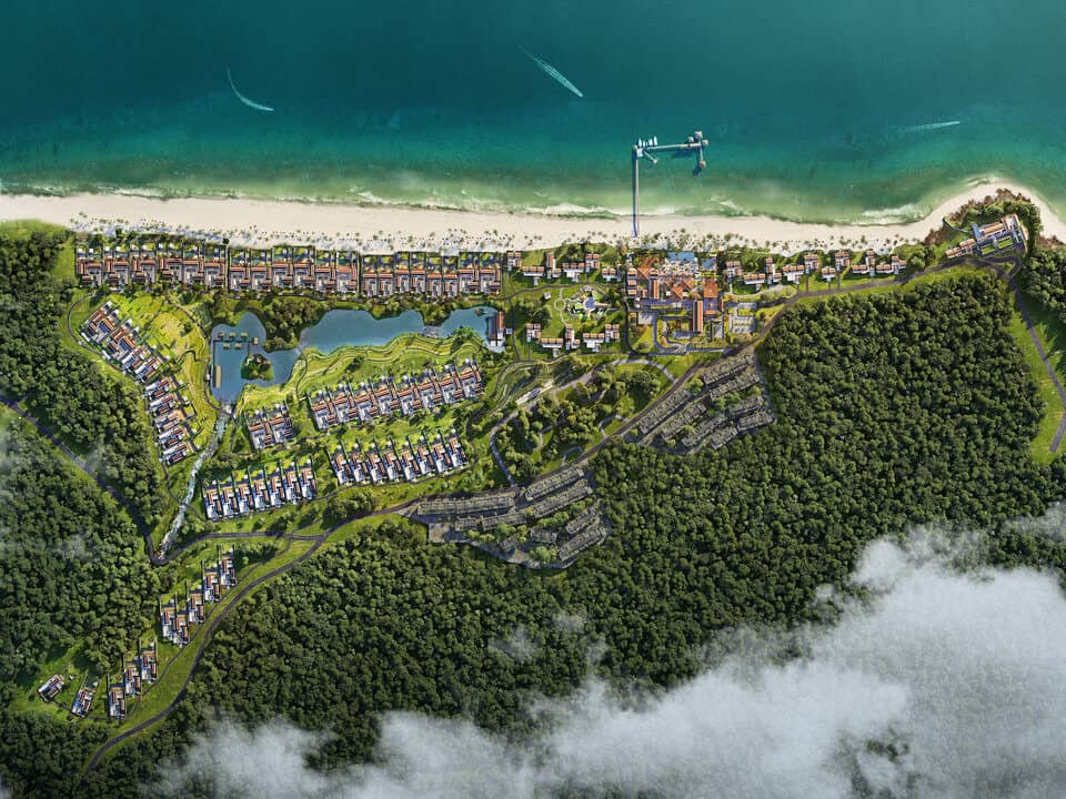 Biệt thự biển Park Hyatt Phú Quốc đón đầu năm 2020