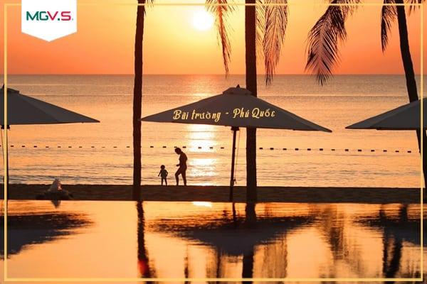 Bãi Trường một trong những bờ biển đẹp nhất Phú Quốc