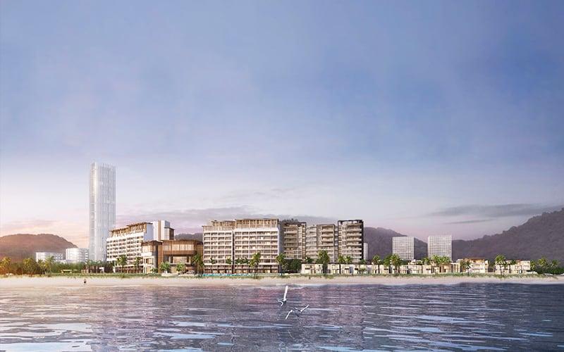 Khu nghỉ dưỡng đô thị Intercontinental Residences Ha Long