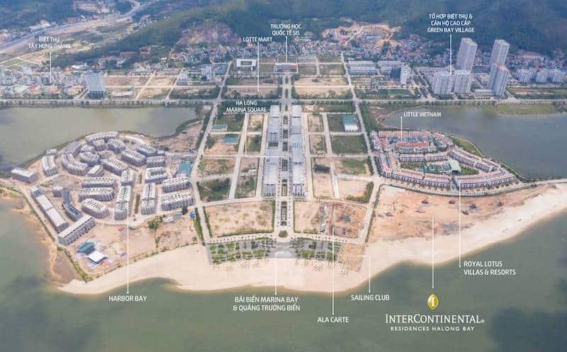 Tiến độ thực tế dự án Hạ Long Marina