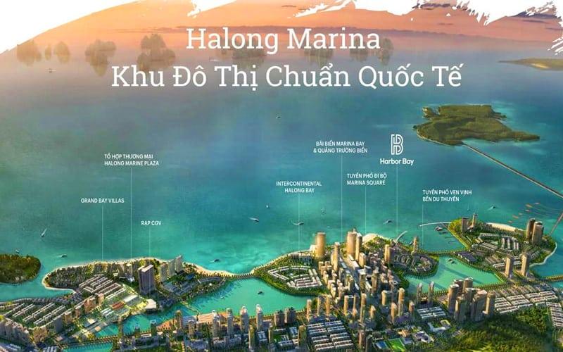 Tổ hợp dự án nghỉ dưỡng Hạ Long Marina