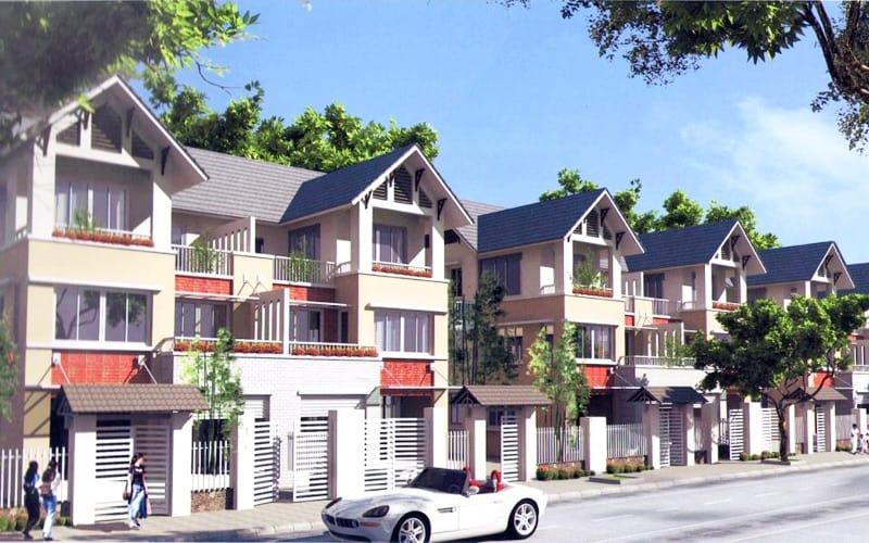 Biệt thự phố Tây Nam Linh Đàm