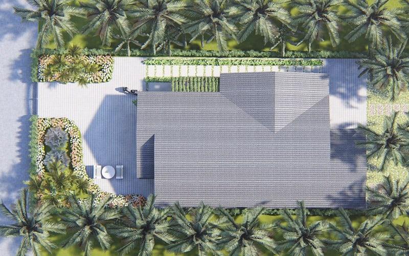 Biệt thự vườn 1 tầng