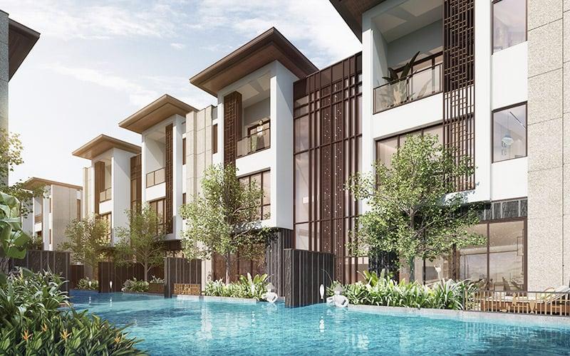 Khu biệt thự sang trọng Intercontinental Residences Ha Long Bay