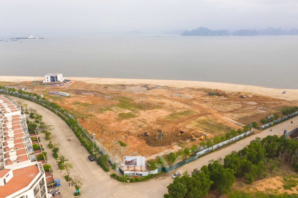Tiến độ dự án InterContinental Hạ Long Bay