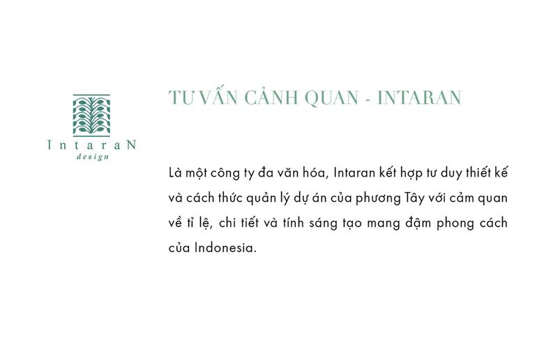 Intaran Design là đơn vị đảm nhiệm vị trí thi công thiết kế cảnh quan dự án Park Hyatt Phú Quốc