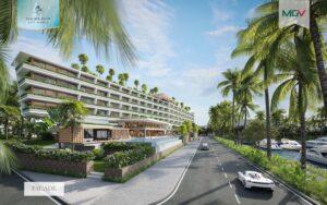 Bộ sưu tập Sailing Club bao gồm: 105 biệt thự và 47 căn hộ nghỉ dưỡng
