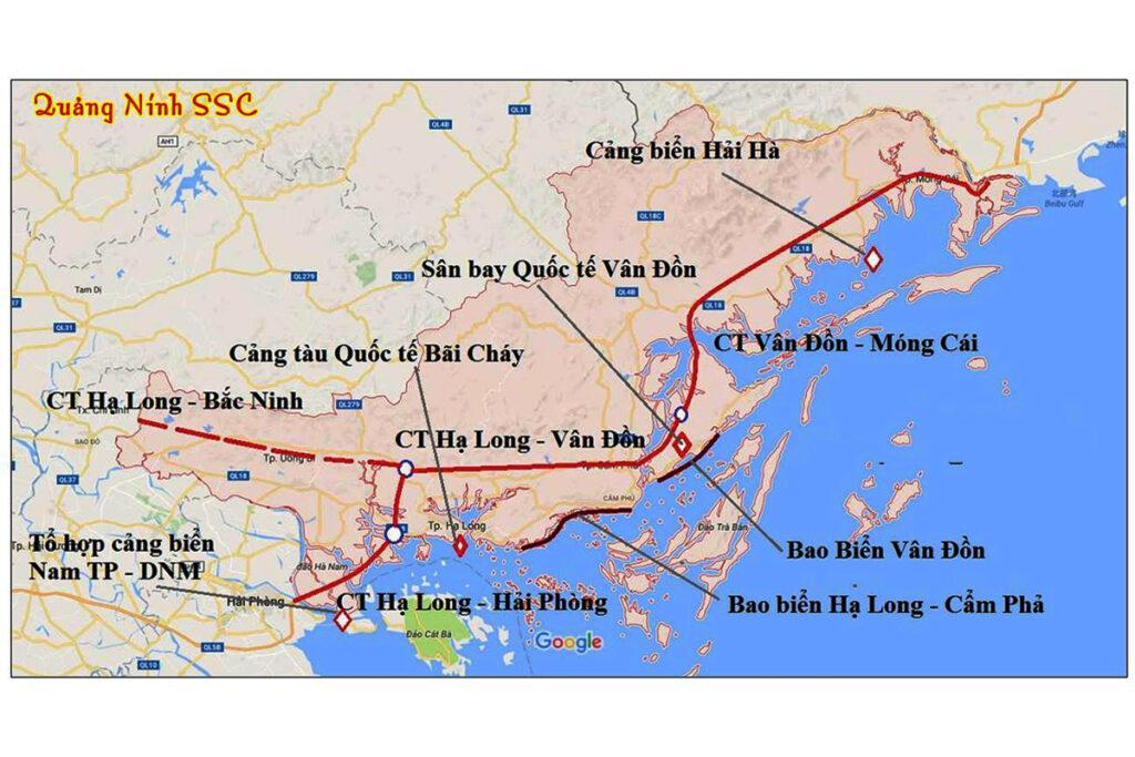quy hoạch giao thông Hạ Long đến năm 2040, tầm nhìn đến năm 2050